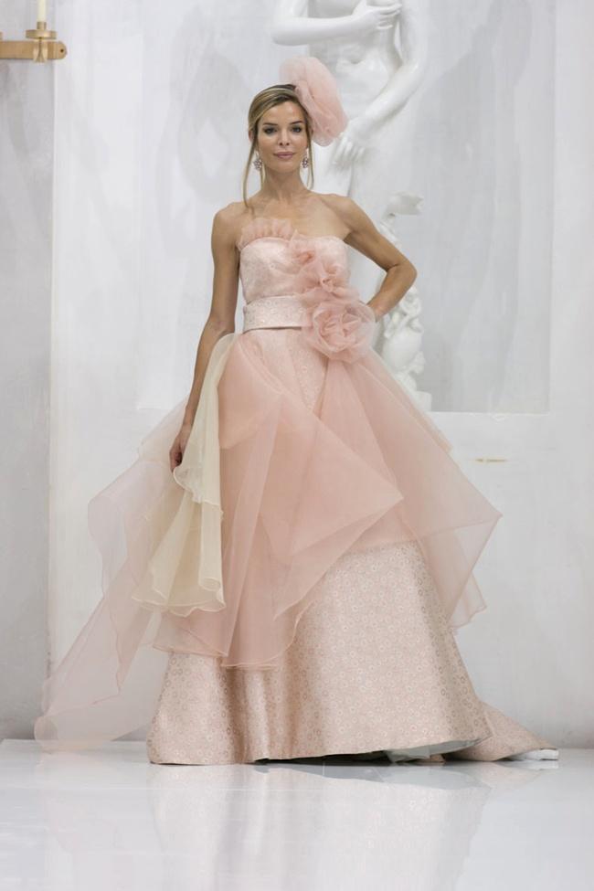 Abiti sposa 2014 colorati Elisabetta Polignano3  Look Sposa