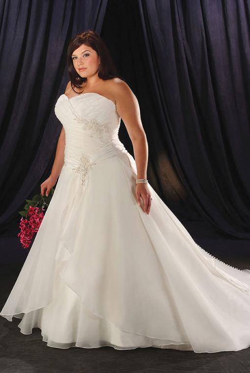 Abiti sposa taglie forti esempio7  Look Sposa