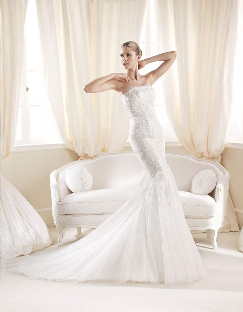 Abiti sposa 2014 sirena sottoveste Pronovias5  Look Sposa