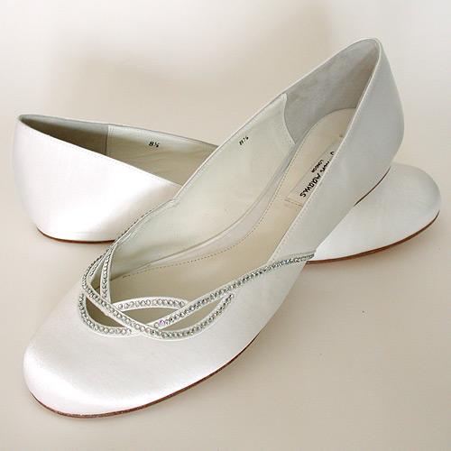 Preferenza Scarpe da sposa basse | Look Sposa UN51