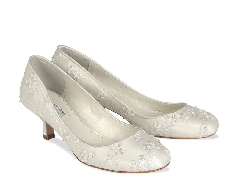 Eccezionale Scarpe da sposa basse | Look Sposa IS21