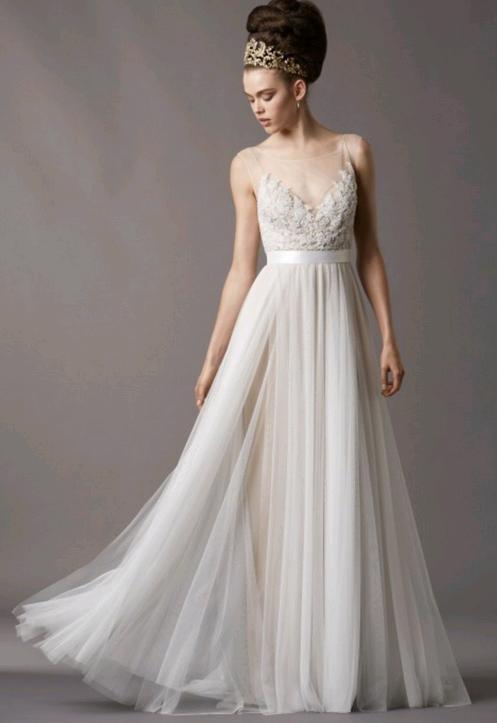 Molto Lo stile greco conquista gli abiti da sposa (e da cerimonia  QT68