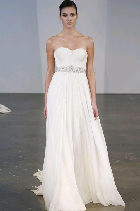 Favoloso Lo stile greco conquista gli abiti da sposa (e da cerimonia  FH47