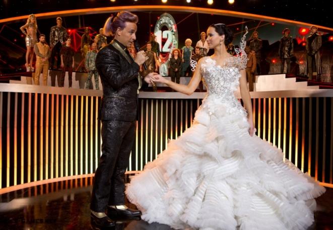 Vestito Da Sposa Katniss Everdeen.L Abito Da Sposa Di Tex Saverio Disegnato Per Hunger Games La