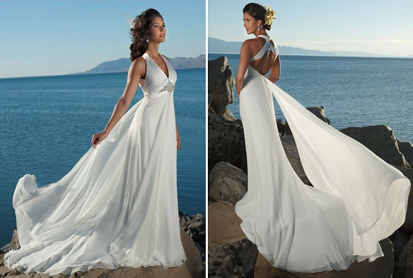 Matrimonio Su Spiaggia : Matrimonio su spiaggia abito sposa esempi look