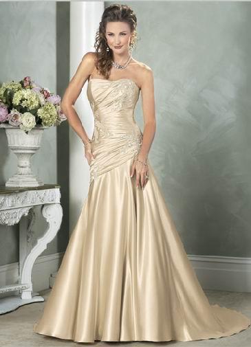 Abiti sposa 2015 color champagne avorio oro18 | Look Sposa