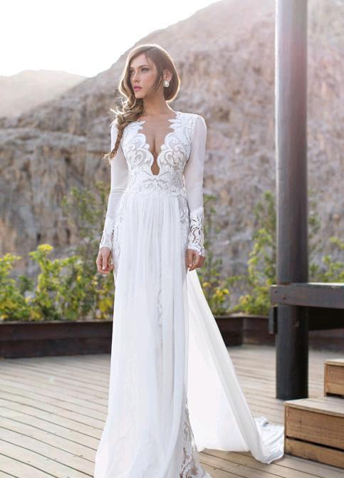 reputable site 56016 5df6c Abiti sposa 2015 stile peplo16 – Look Sposa