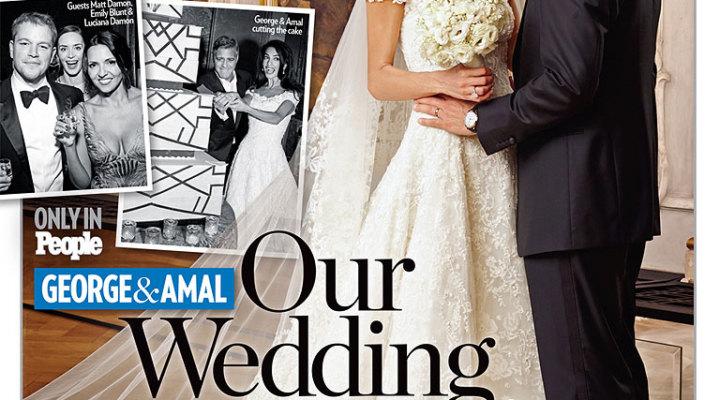 ... abito da sposa di Amal Alamuddin nuova signora Clooney  Look Sposa