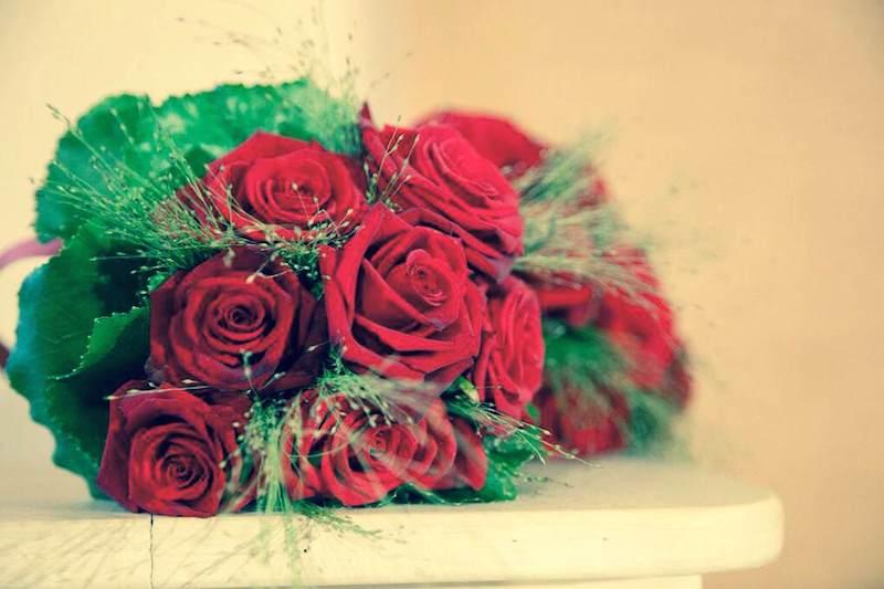 Bouquet d'impatto, rosso