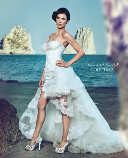 Elisabetta Canalis stilista Alessandro Angelozzi2  Look Sposa