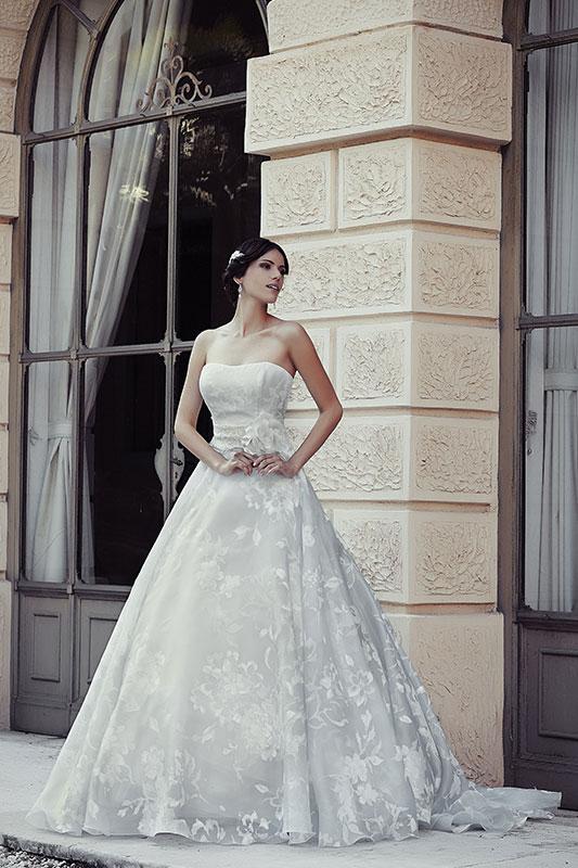 4bcf4e83bd0a Abiti sposa ball gown collezione 2015 Maison by Look Sposa3