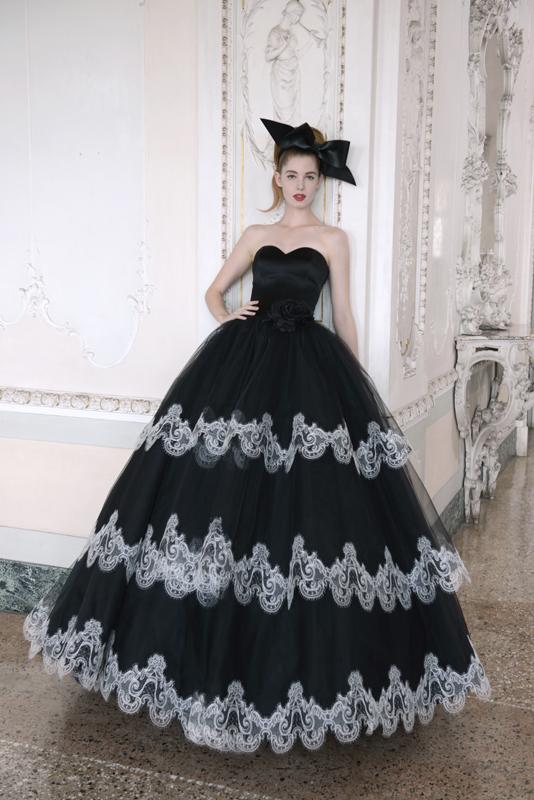 fa904814aaf2 Abiti sposa bianco e nero collezione 2015 Atelier Aimee