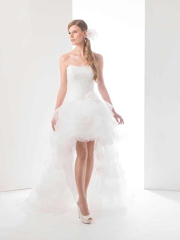 Abiti sposa corti 2015 Delsa  Look Sposa