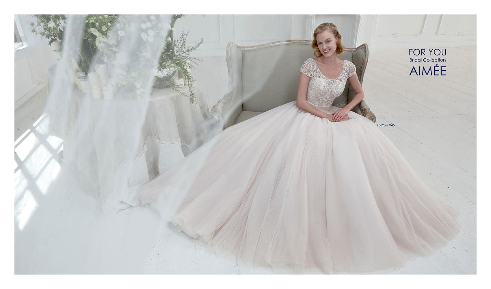 Aimee collezione For You 2015 abiti sposa1. Poesia e romanticismo per ... c74e83dce6e