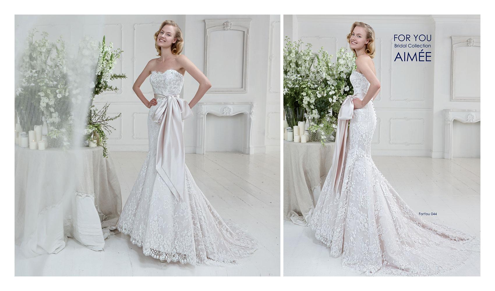 Aimee collezione For You 2015 abiti sposa3. Poesia e romanticismo per ... f998c3d81e4