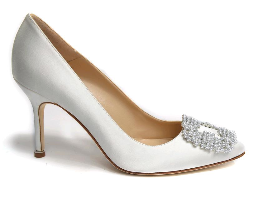 acquista originale catturare vendita all'ingrosso Manolo Blahnik scarpe sposa hangisi4 – Look Sposa