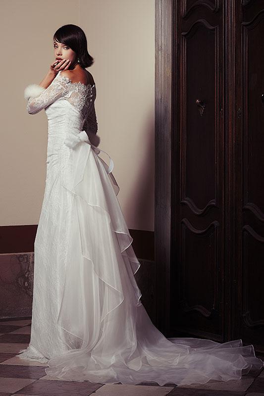 Strascico Abito sposa Maison 2015 Look Sposa