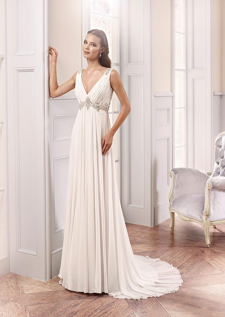 Eddy K collezione Milano 2015 abito sposa dea greca