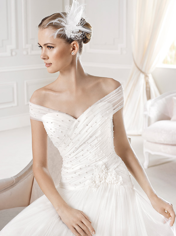 La Sposa Pronovias 2015 accessori maxi acconciatura1