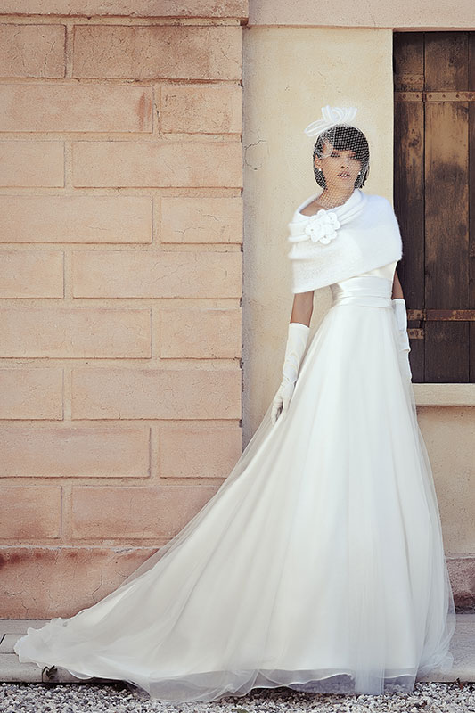 Maison 2015 by Look Sposa outfit inverno con cappa