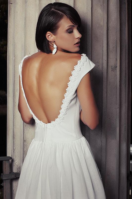 Maison Look Sposa 2015 abito con tasche1