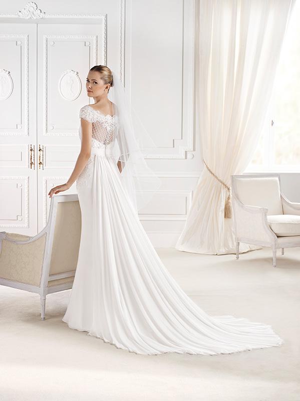 f74cc09d69dd Tessuto chiffon collezioni 2015 abiti sposa Look Sposa8