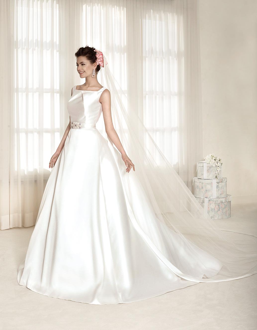 Sposa Spose Cristina Mikado Delsa Abito 2015 Maria 5K13TuFJlc
