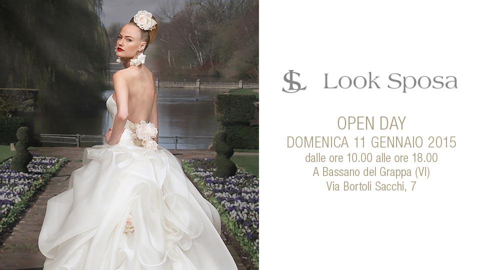 Open Day atelier Look Sposa Bassano del Grappa domenica 11 gennaio 2015