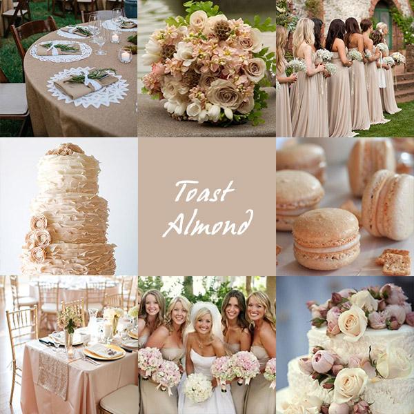 Matrimonio Tema E Colore : Colori matrimonio tendenze esempi look sposa