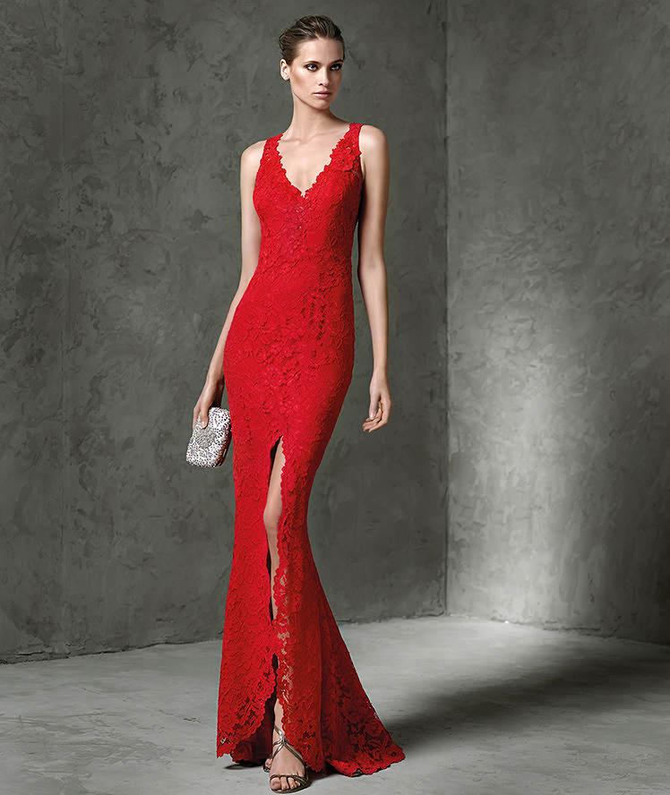 modello cerimonia Layos 2015 collezione Pronovias abiti Fiesta qw6ZOFxa 4582a0121c3