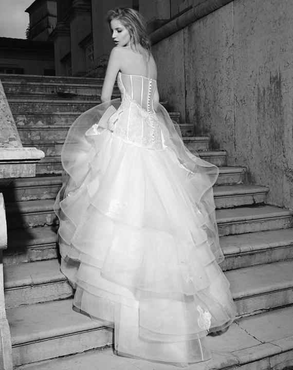 Stefano Blandaleone Le Spose collezione 2015 abiti sposa mezza sirena