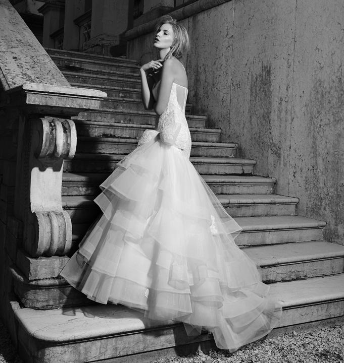 Stefano Blandaleone Le Spose collezione 2015 abiti sposa mezza sirena1
