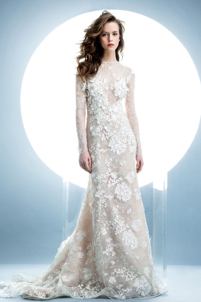 e68b4326bf6c Abiti sposa 2016 Angel Sanchez 2 New York Bridal Week 2015. New York Bridal  Week Aprile 2015   una panoramica sugli abiti da sposa primavera – estate  2016