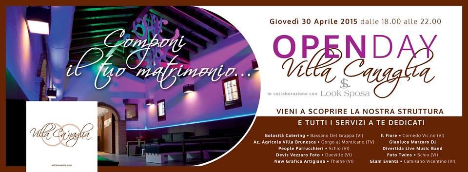 Villa Ca Naglia Open Day 30 aprile 2015 Look Sposa
