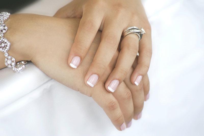 Eccezionale Manicure sposa mani unghie perfetta per matrimonio | Look Sposa PX22