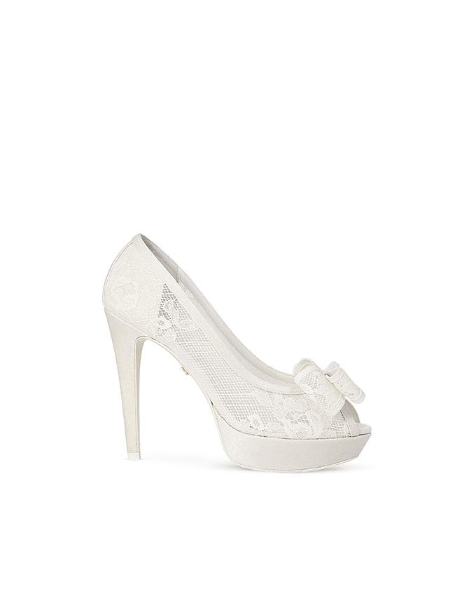 scopri le ultime tendenze tessuti pregiati speciale per scarpa Scarpe sposa 2015 Rosa Clara | Look Sposa
