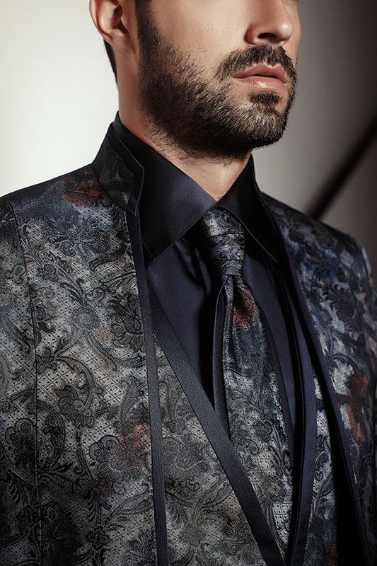 Vestito sposo moda uomo cerimonia 2015 Maison Look Sposa1
