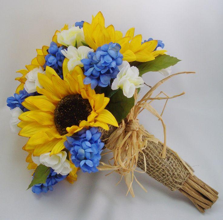 Bouquet Sposa Girasole.Bouquet Sposa Con Girasoli Esempi6 Look Sposa