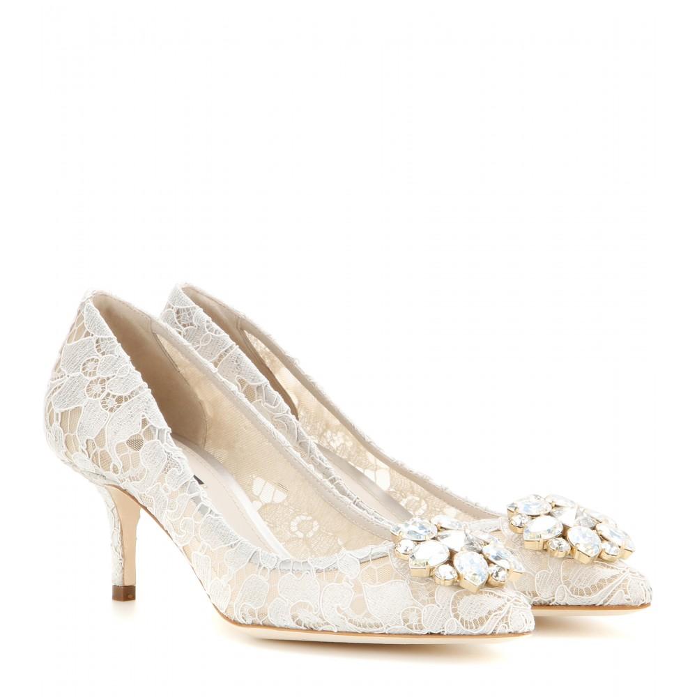 Scarpe Sposa Dolce E Gabbana.Scarpe Sposa Pizzo Bellucci 2016 Dolce E Gabbana Look Sposa