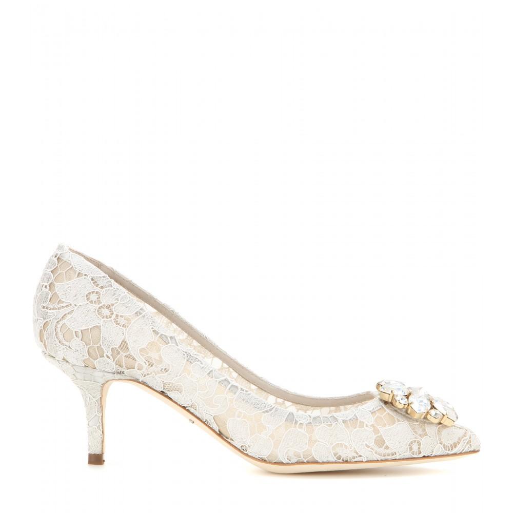 Scarpe sposa pizzo Bellucci 2016 Dolce e Gabbana2. Le scarpe sposa Bellucci  in pizzo e cristalli di Dolce e Gabbana 2016 41d7b41671e