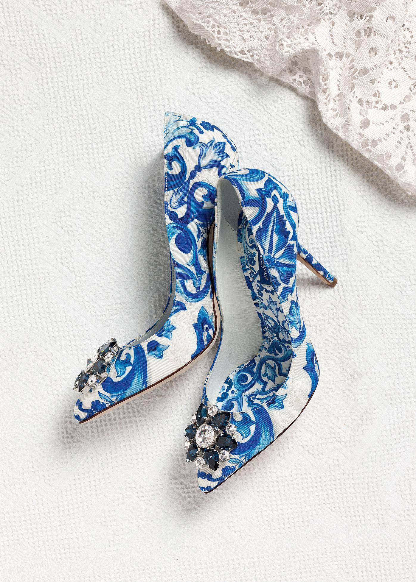 Scarpe sposa gioiello Dolce Gabbana 2016