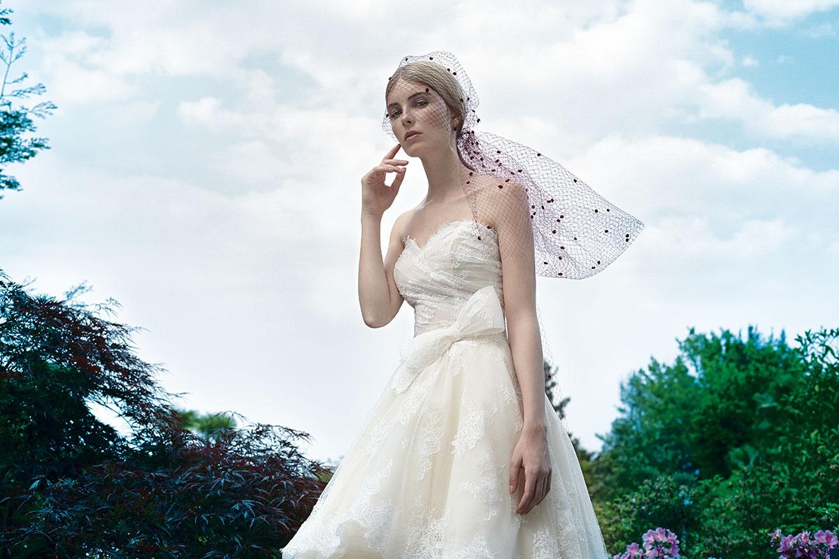 Veletta acconciatura sposa collezione bridal 2016 Stefano Blandaleone1