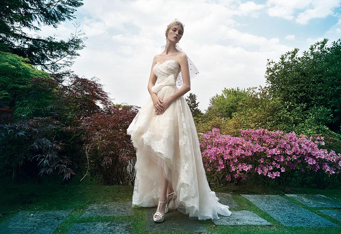 Veletta acconciatura sposa collezione bridal 2016 Stefano Blandaleone2