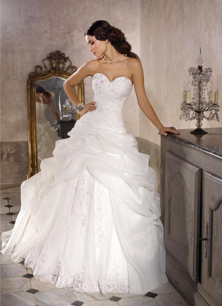 Vestito sposa ball gown collezione 2016 Miss Kelly  Look Sposa