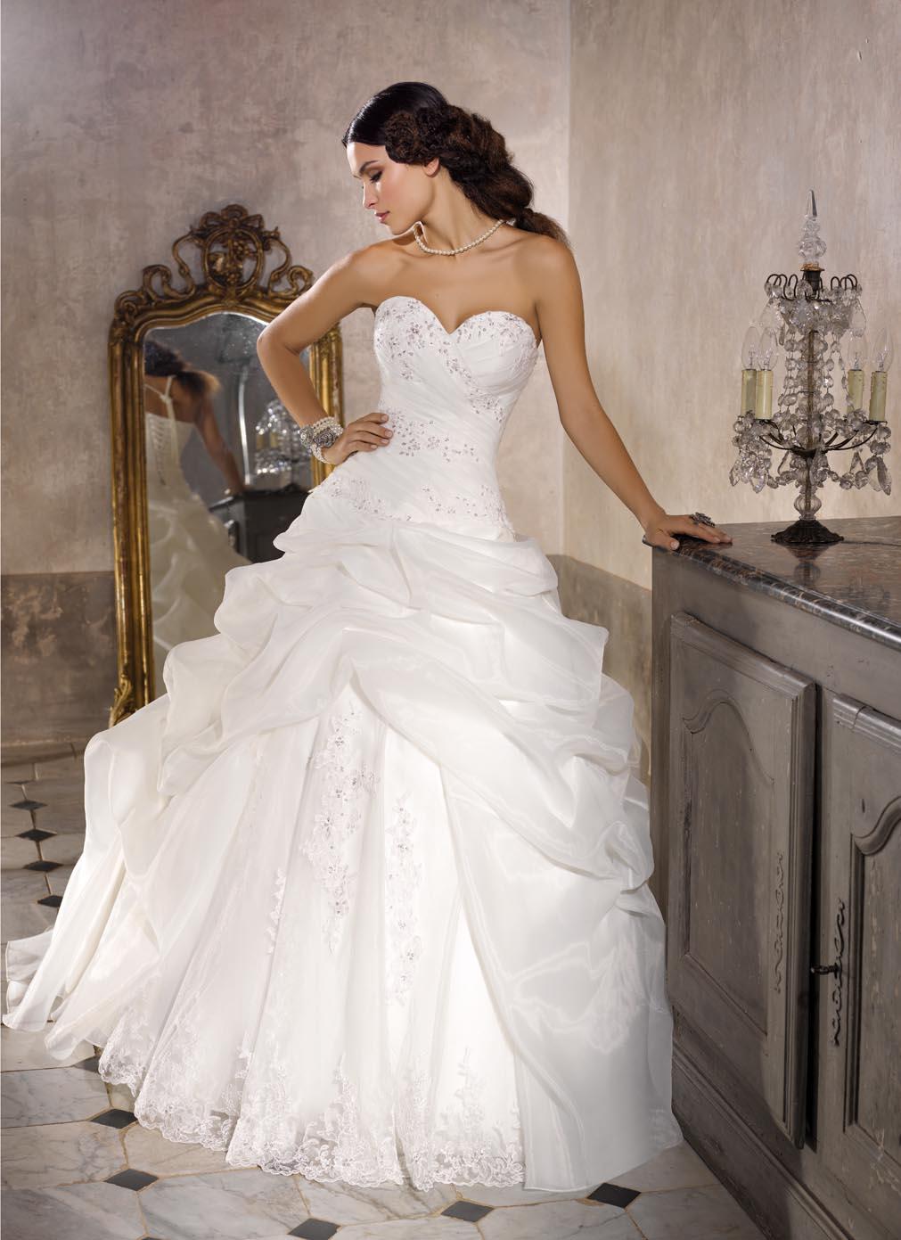 Vestito sposa ball gown collezione 2016 Miss Kelly