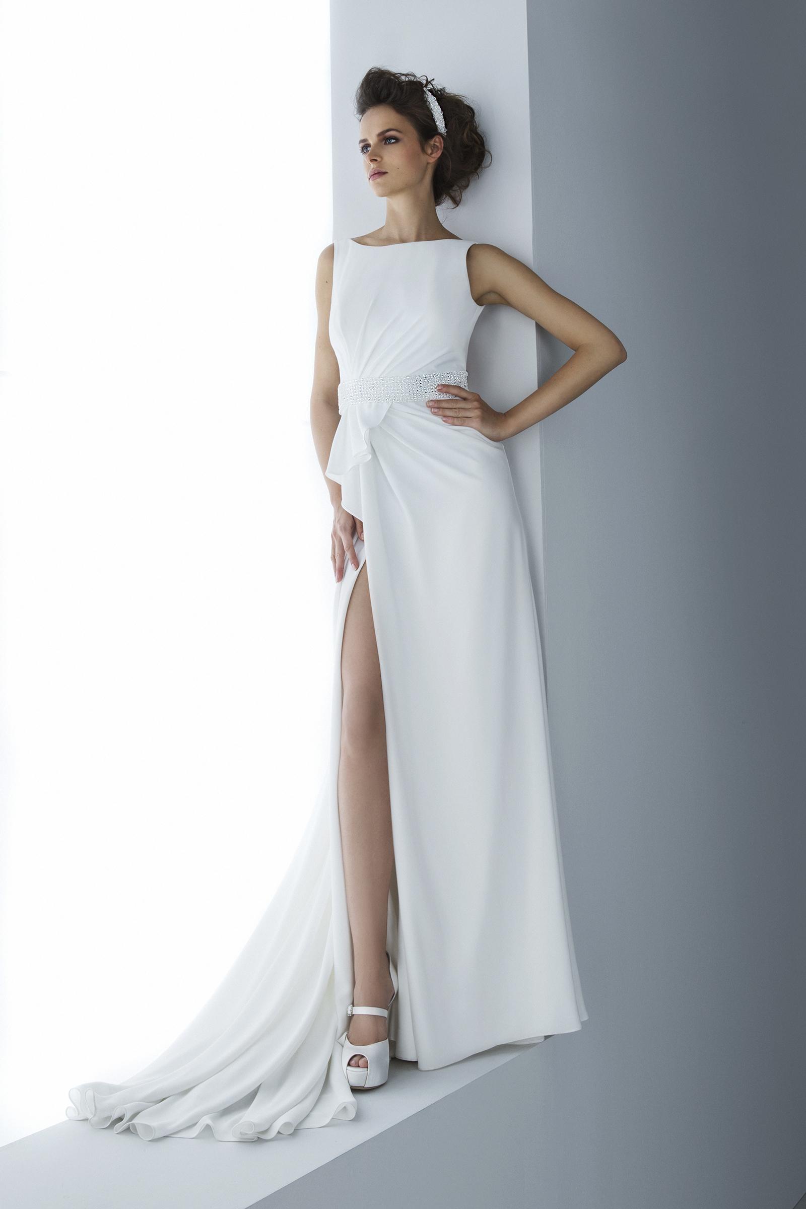 Vestito sposa collezione Ego 2016 Valentini modello VL204 1