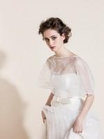 TO304 mantellina abito sposa Tosca 2016