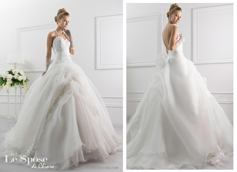 Ball gown collezione Le Spose di Chiara 2016 vestito sposa