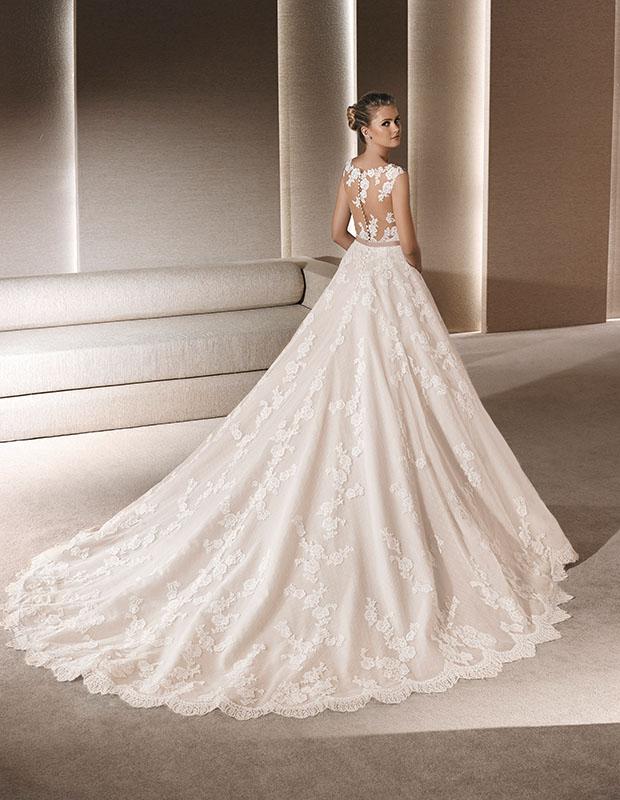 a121c65b68fe Vestiti sposa tattoo 2016 esempio La Sposa by Pronovias4