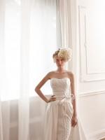 ... stilistica del fascinator secondo Elisabetta Polignano 2016  essenziale  e moderna nel mood Valentini Spose 2016 oppure 279765441ef